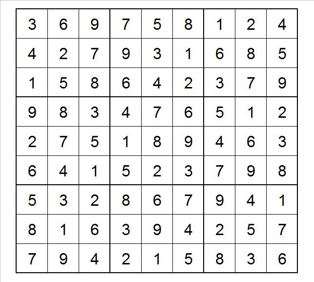 The Art of Blind Sudoku